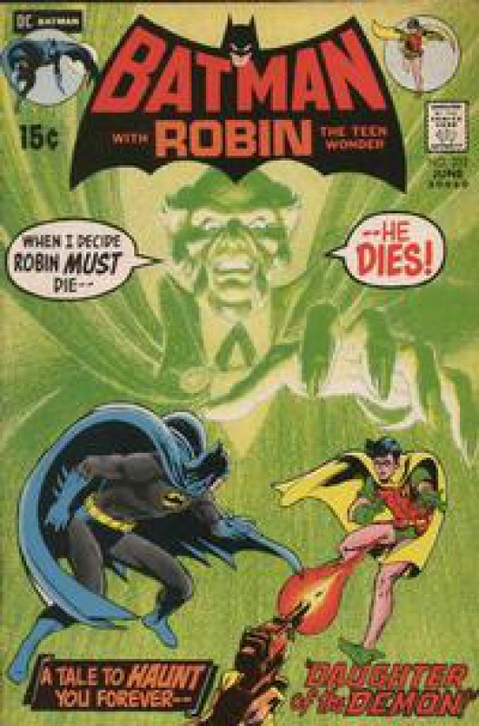 [ARTICLE] Batman: Ra's Al Ghul 8689412442722321971