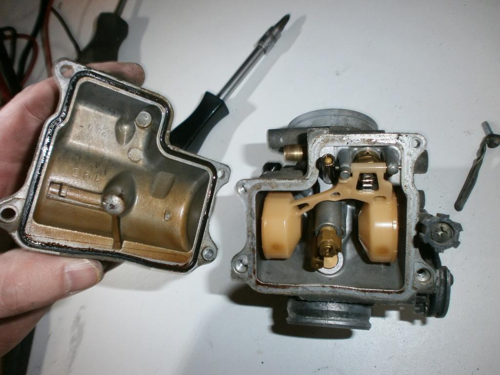 Nettoyage carburateurs de transalp 600 869629P1270023