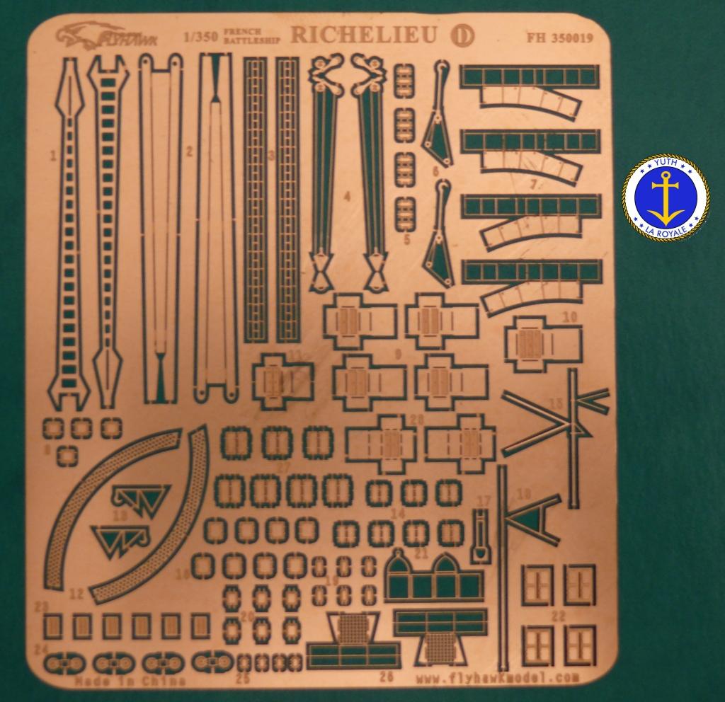 Set Richelieu 1/350 Super Detail FLYHAWK 869702Richelieuflyhawk0111