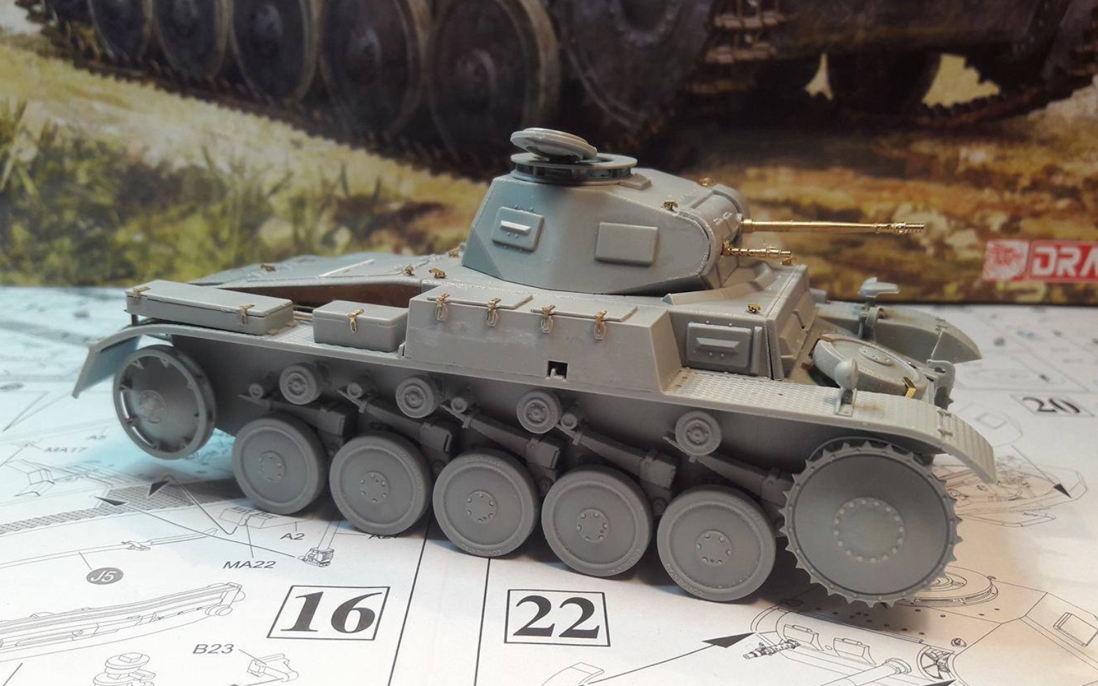Pz.Kpfw.II Ausf.F - Kharkov 1/35 - Page 2 871690BuildStep2A