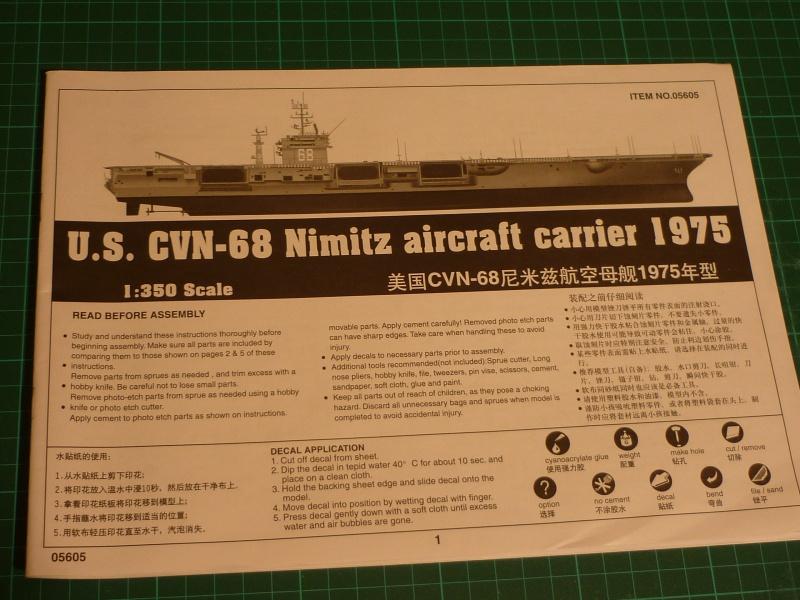 CVN Nimitz 1/350 Trumpeter 872440P1040810