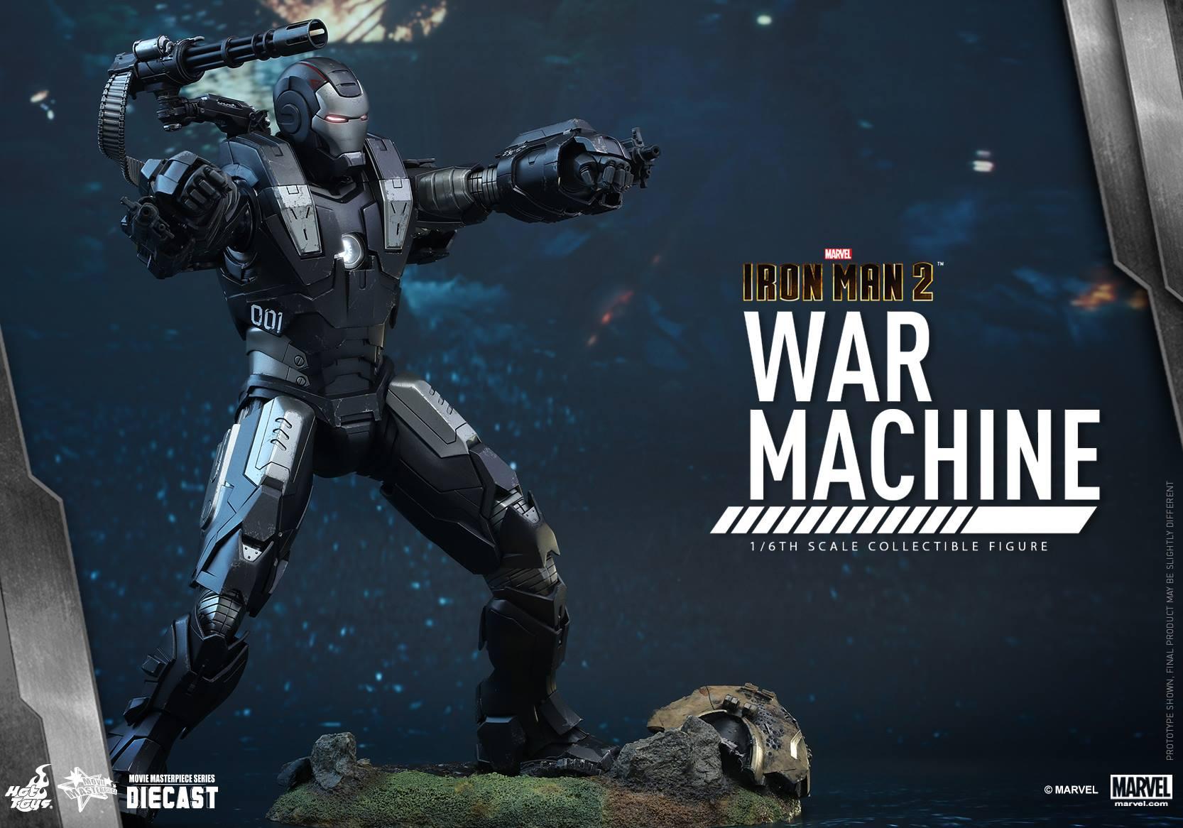 HOT TOYS - Iron Man 2 - War Machine Diecast 873924104