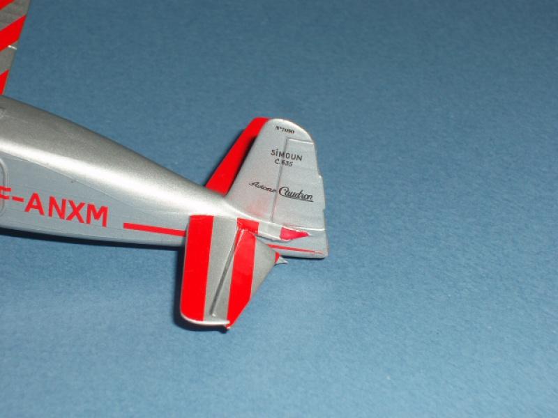 CAUDRON C-635 Simoun  (version Raid Paris-Tokyo). 1937  Heller 1/72. 874297caudronraid017