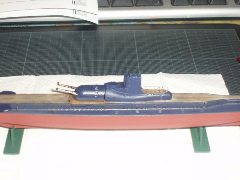 sous-marin SURCOUF 1/400 875349P6150188