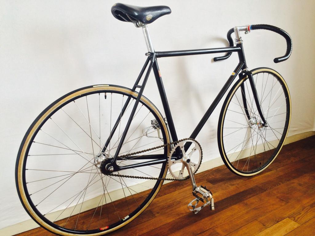 Vélo de piste Jean Marie Brun Tubes Columbus 875437image