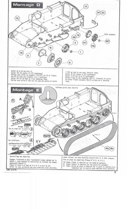 AMX 13 VTB - (Réf. L787) 1/35 876499VTB005