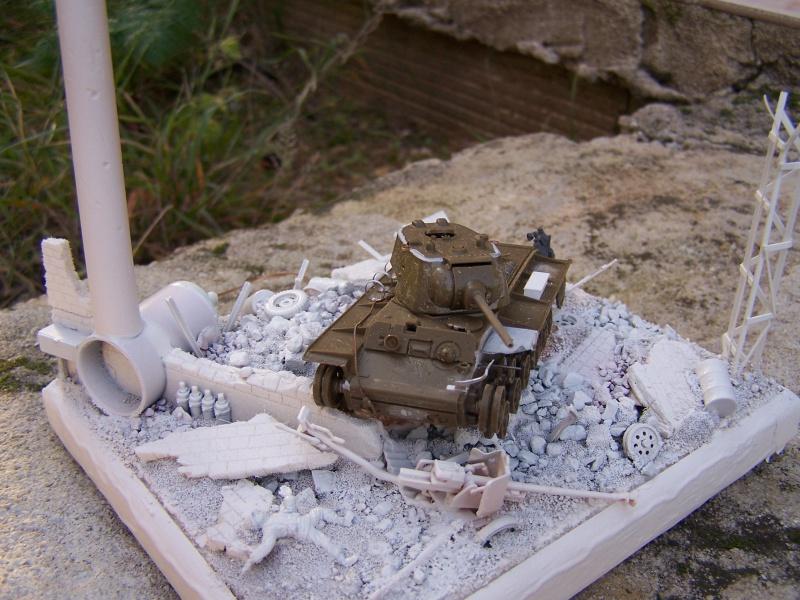 """""""Le duel"""" KV1c vs Panzergrenadiere Russie 1942 (terminé) 8768641005489"""
