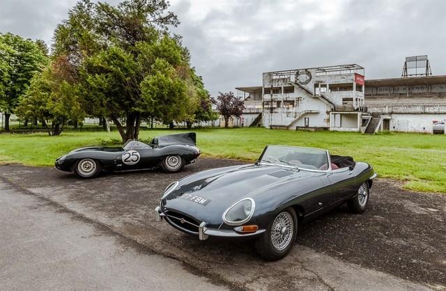 Les Jaguar XF, F-Pace et F-Type célèbrent les 60 ans de la victoire de la Type D aux 12 Heures de Reims Lors De La 22ème Edition De Sport Et Collection 878115IMG4606LowRes