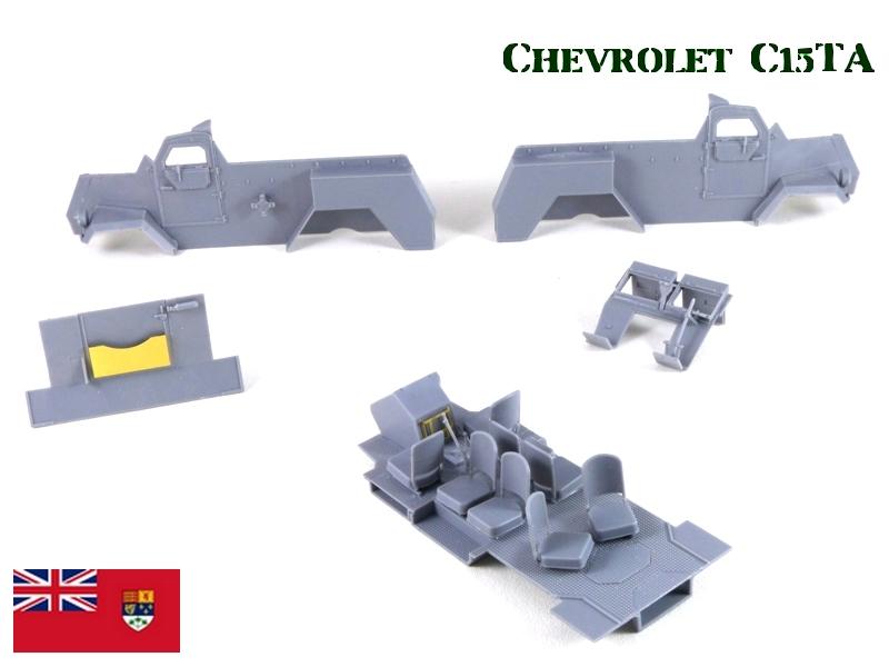 CHEVROLET C15TA - Normandie 44 - IBG 1/35 878304P1040107
