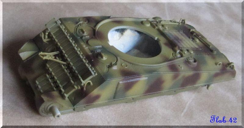 Panzer 3 Ausf M Revell + photodécoupe eduard 1/72 878372tachemarronsH4061