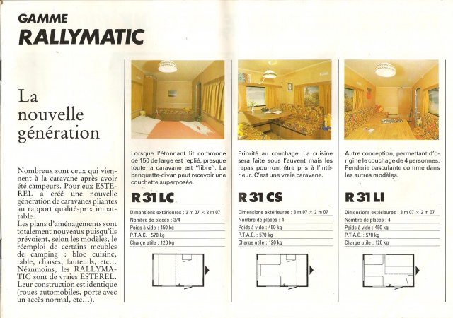 Les Esterel, début 80' 879074Brochure10001