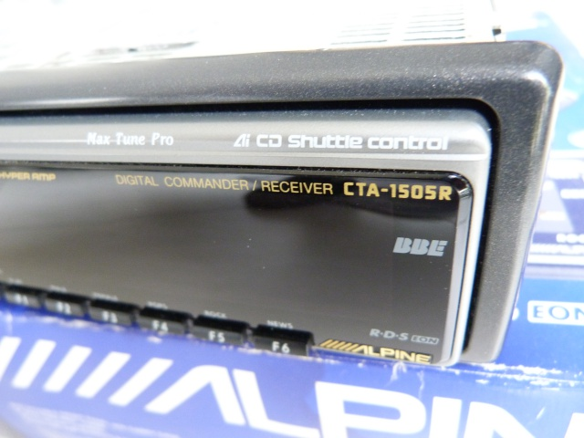 //////Alpine CTA 1505, un super tuner pour un système évolutif! 879118P1130609