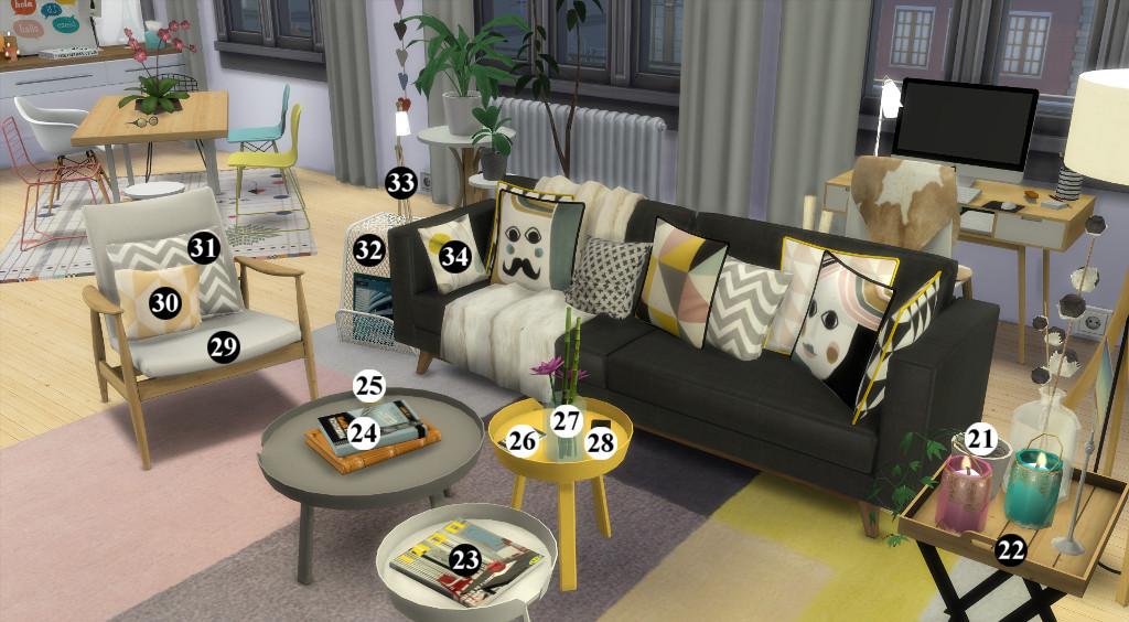 Appartement scandinave (let's build et téléchargement) 87917415en1024avecnumros