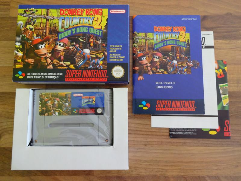 Prupru's Collection ! 100% Super Nintendo et 200% Super Comboy !! - Page 17 879732DonkeyKongCountry2DiddysKongQuestFAH