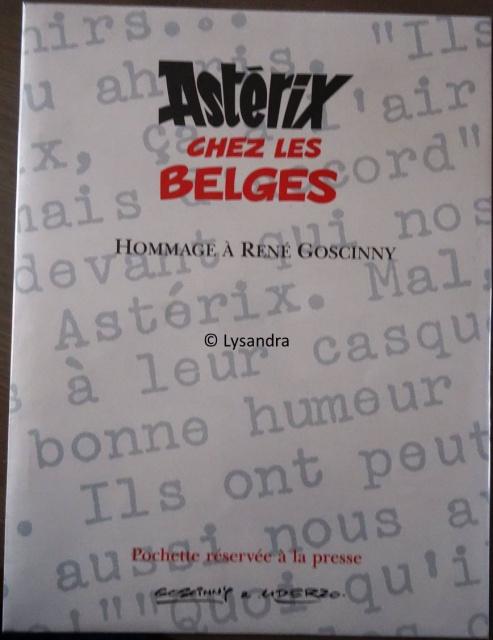 Astérix chez les Belges version Luxe  880152pochetteastrixchezlesbelges