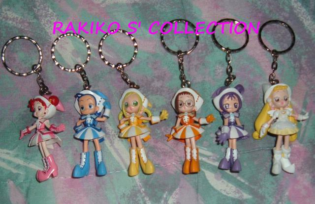 Rakiko s' magical world 880561Ojamajo_Doremi_keychains