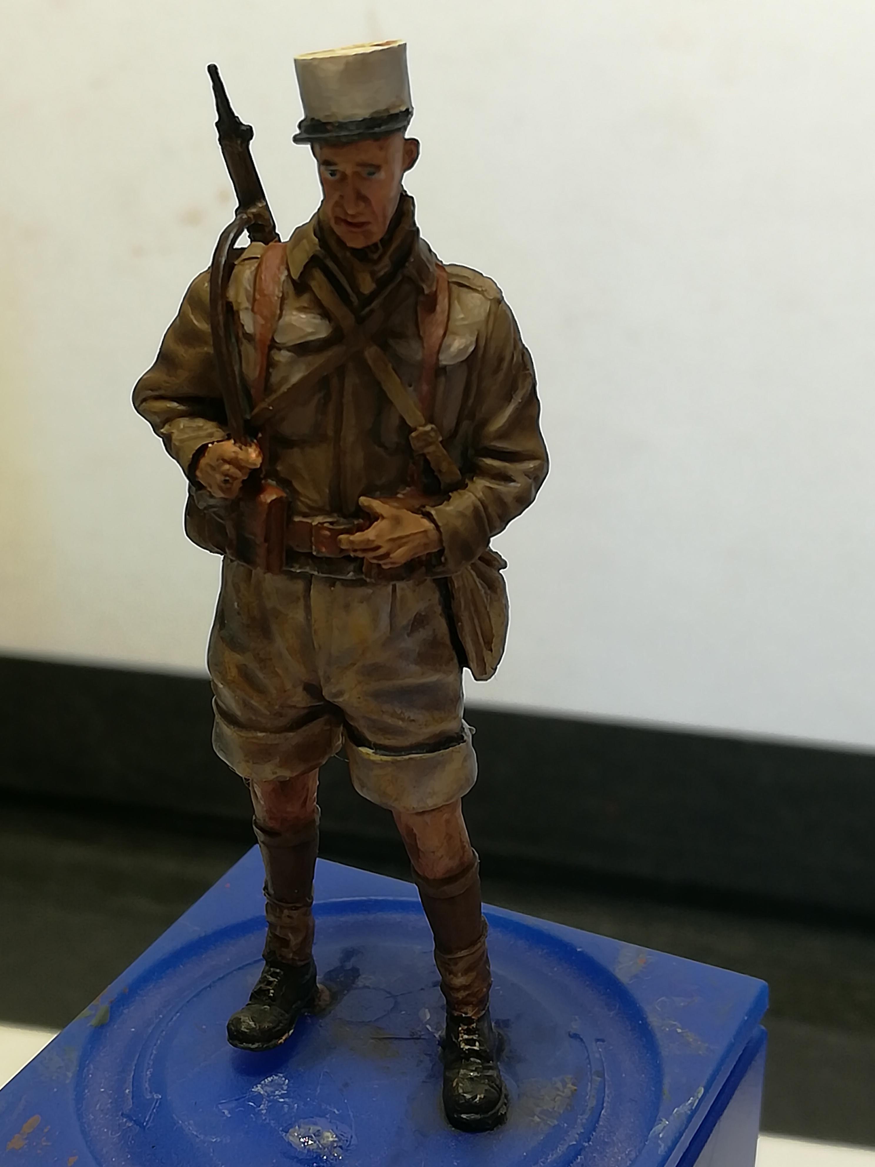 Les frères ennemis, Bir Hakeim, Libye, 1942 - Figurines Steelmasters 1/35 881041IMG20170904172452