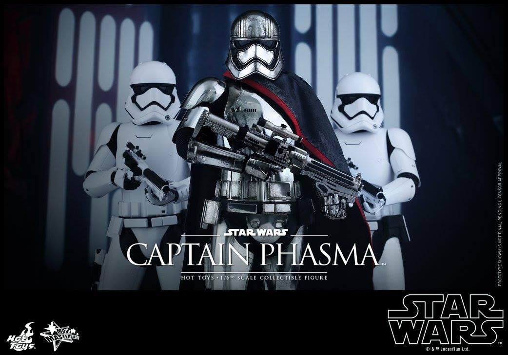 HOT TOYS - Star Wars: TFA - Captain Phasma 881389101