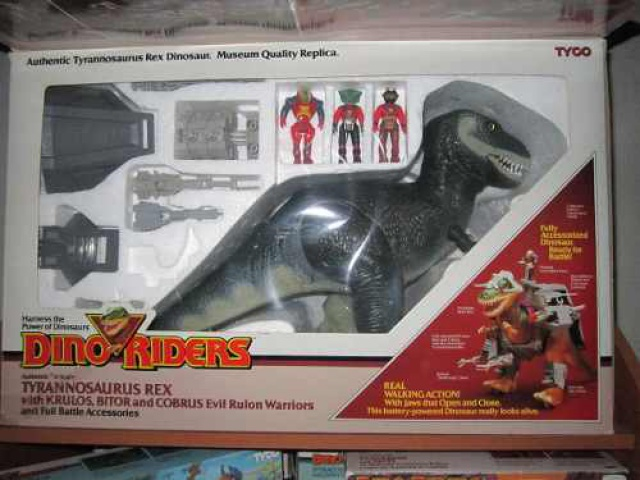 Les jouets DINO-RIDERS ( dinoriders ) - IDEAL 881628din82012