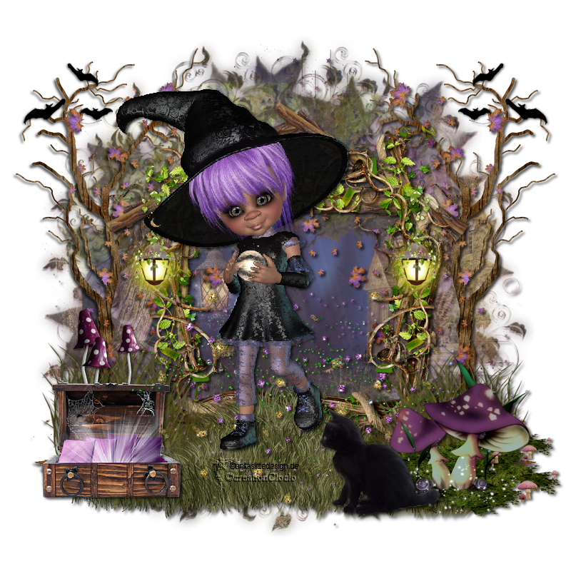Scrap Halloween Magic Cloclo 882552cloclo