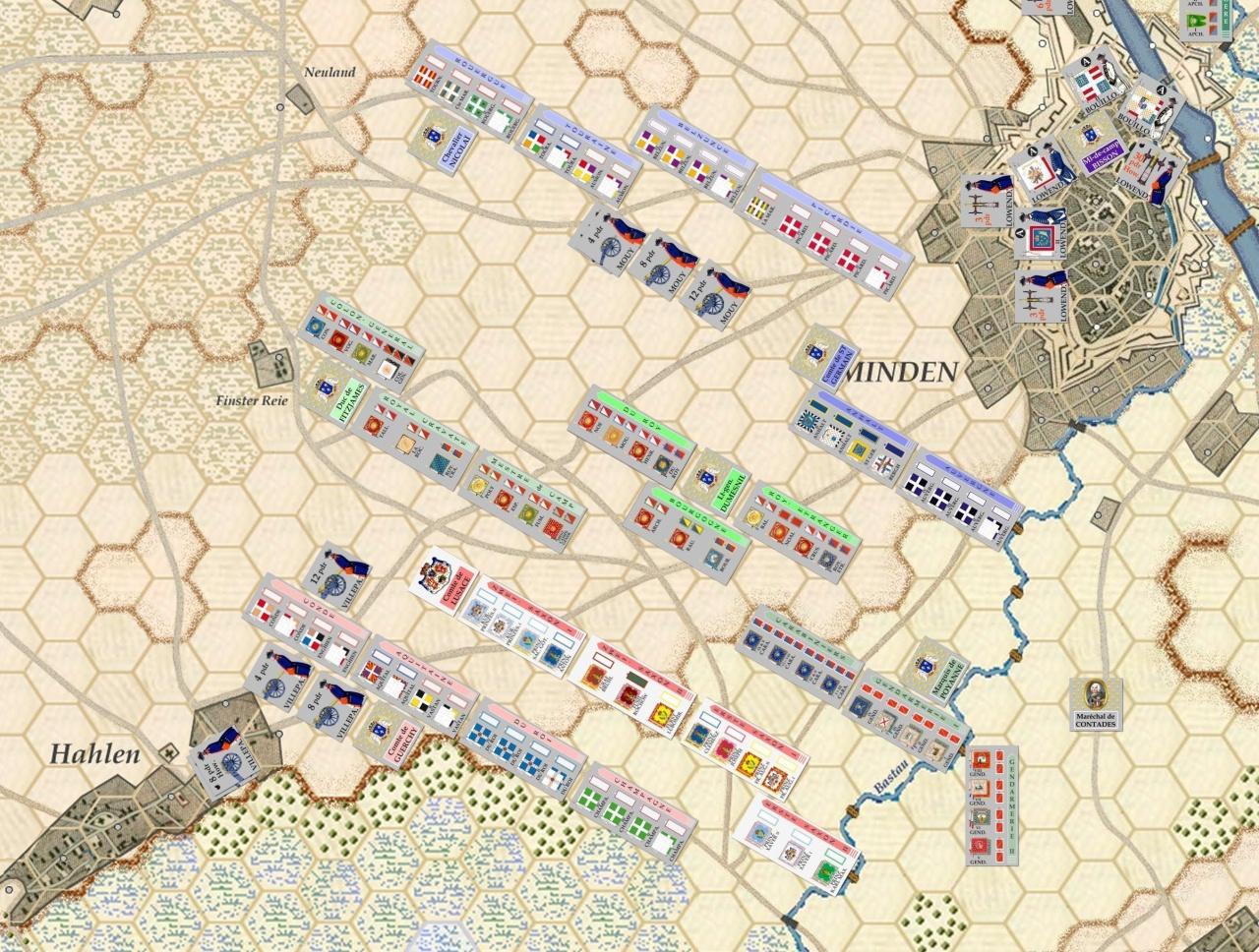 Nouveau Jeu : Bataille de Minden - Page 9 883947Situation0400marchefranais