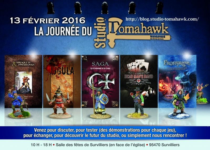 [95 - Survilliers] : La Journée du Studio Tomahawk - 13 février 2016 884046Affiche2016JourneduStudio