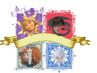 (Fan art) Merida, Rapunzel, Jack et Hiccup - The Big Four - Page 3 885819blasonencoursavectte