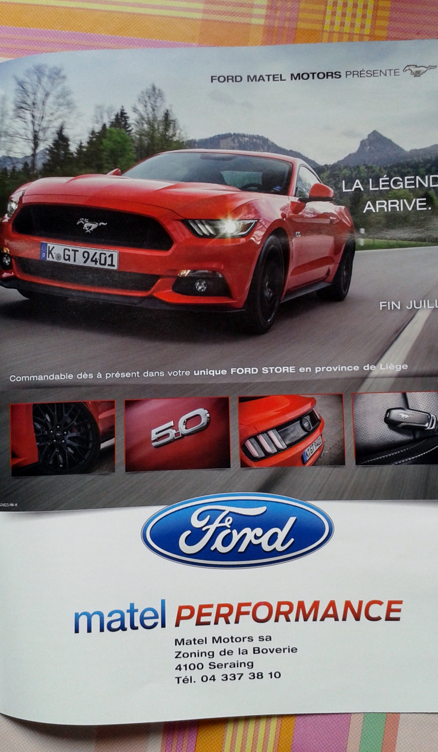 La Ford Mustang galope vers l'Europe 88599120150606090156