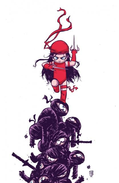 [Comics] Skottie Young, un dessineux que j'adore! - Page 2 886865elektra1cover4