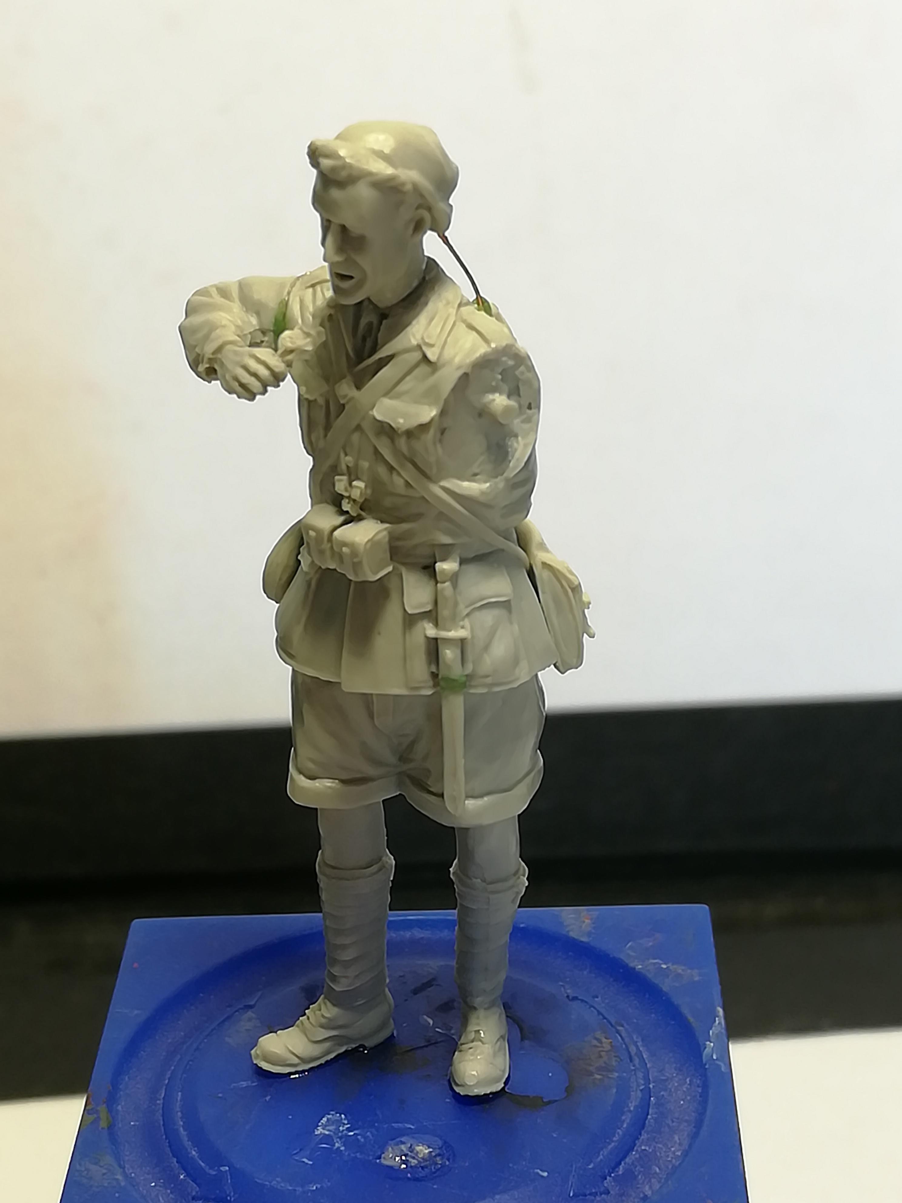 Les frères ennemis, Bir Hakeim, Libye, 1942 - Figurines Steelmasters 1/35 887295IMG20170904173810