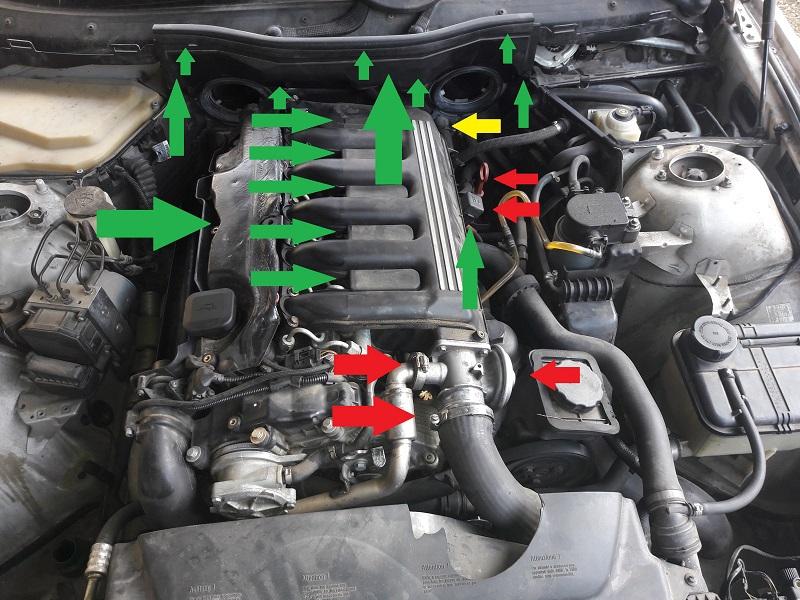 [BMW 530 d E39] Réparation raccord canneler sur pompe HP 88764820170128140735