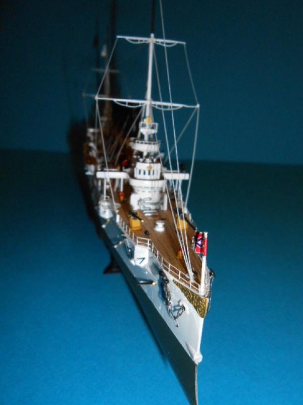 """Croiseur Russe """"VARYAG"""" 1/350 PE + Pont en bois de chez Zvezda 889429Croiseur003"""