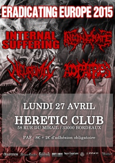 PROG AVRIL 2015 @ HERETIC CLUB, Bordeaux 892058INTERNALSUFFERING270415