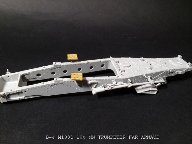 un B-4 M1931 203 mn (le marteau de Staline trumpeter 1/35 893040shridanetplamier015