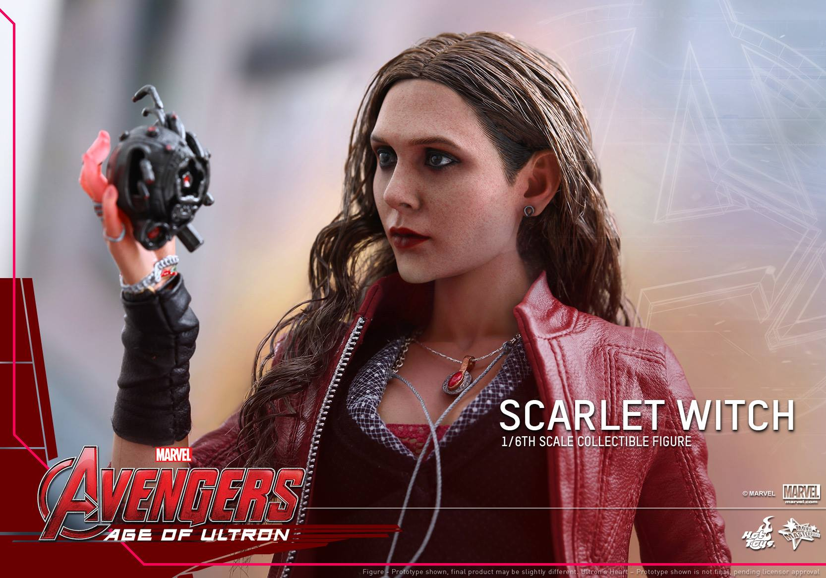 HOT TOYS - Avengers: Age of Ultron - Scarlet Witch 893258104