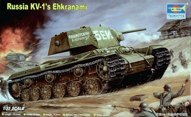 KV-1 Ehkranami  -  TRUMPETER 1/35 893443Trumpeter00357