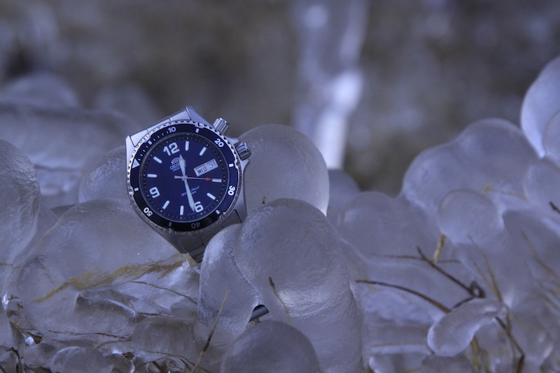 Orient Blue Mako en terre de glace 895587MG3796