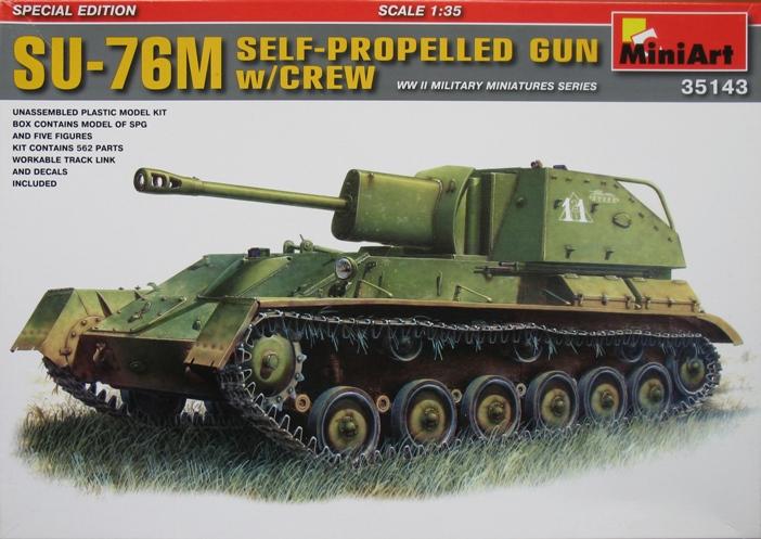 SU 76M  Miniart 1/35 895871modles123001