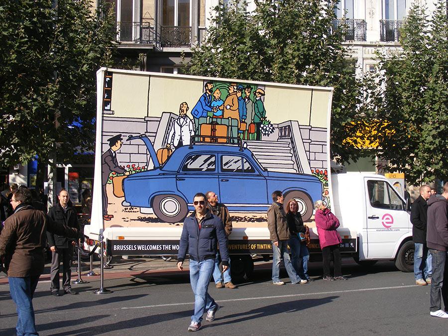 """Bruxelles côté BD  """"Tintin en automobile"""" - Page 2 895914DSCF6268"""