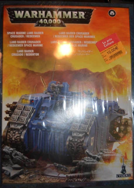 [CDA Armour] Nalhutta : Land Raider Crusader Blazing templars. 896407002