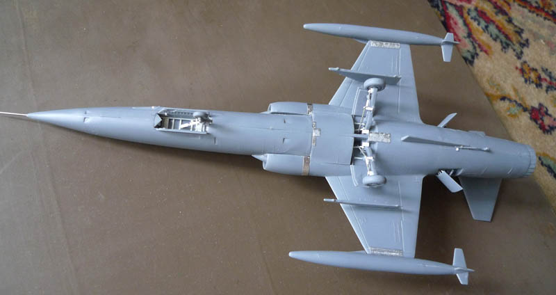 [Heller] - F 104 Starfighter à la sauce italienne. 896502F10409