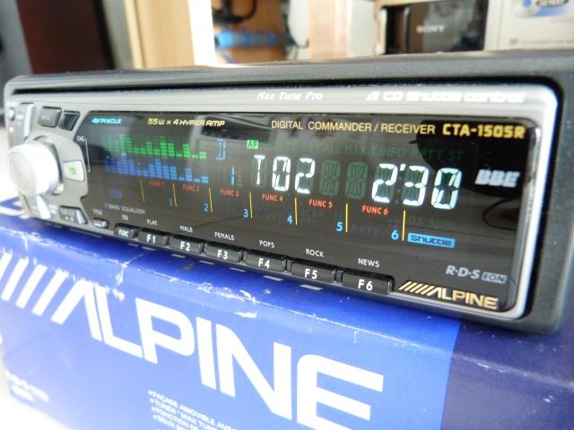 //////Alpine CTA 1505, un super tuner pour un système évolutif! 897309P1130659