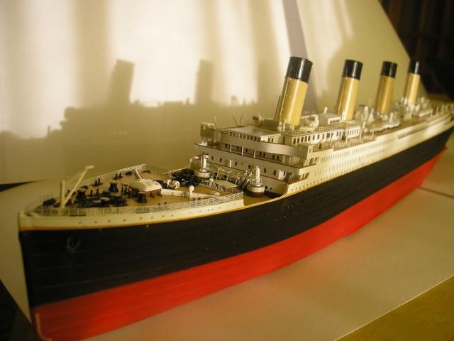 RMS Titanic par Titanic fan au 1/350 - Minicraft. 89796914010910