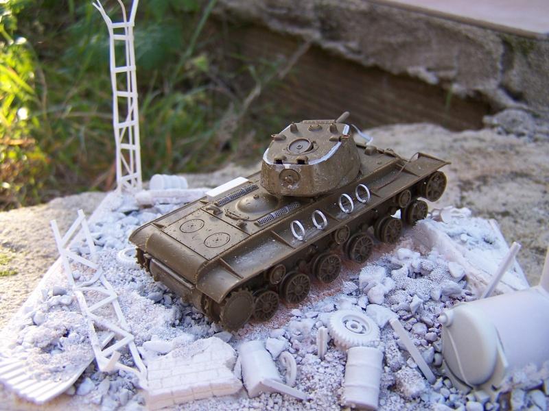 """""""Le duel"""" KV1c vs Panzergrenadiere Russie 1942 (terminé) 8993131005493"""