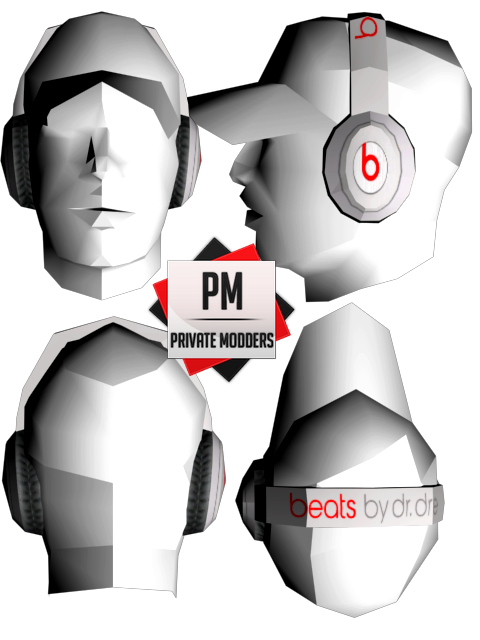[REL] beats by dre [bmyap] / low poly . 899556361