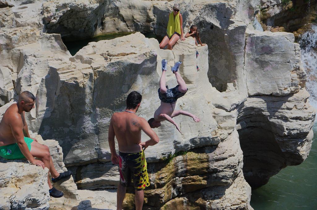 Plongeons aux cascades du Sautadet 901759DSC0445