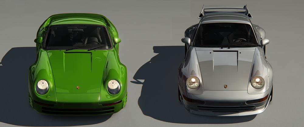 Porsche 993 GT et 959 (Original Mod)  902496PACKPORSCHE