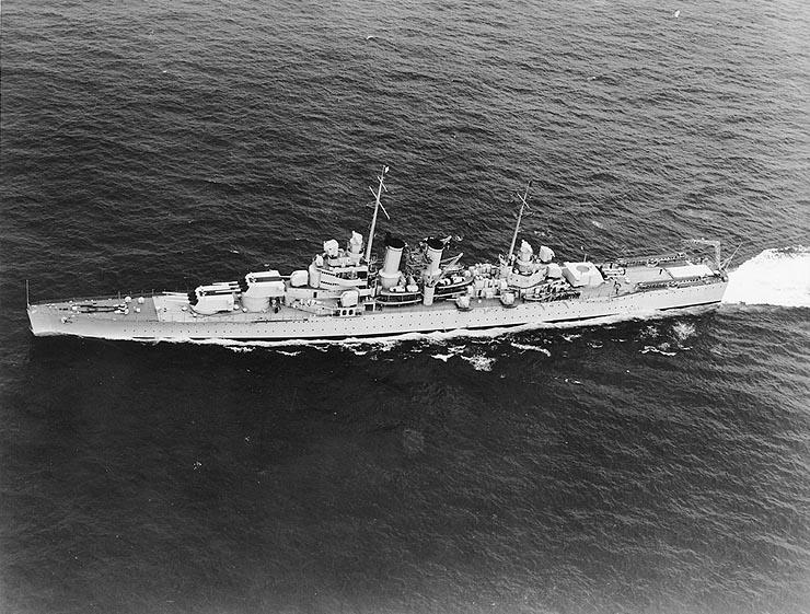 USN CROISEUR LOURD USS WICHITA 903270USSWichitaCA45Mai1940