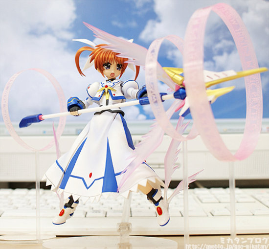 [Figurine] Actsta - Magical Girl Lyrical Nanoha The MOVIE 1st: Nanoha Takamachi 1/8 Scale actsta Action Figure 903488lyricalnanoaactstagoodsmilecompany3