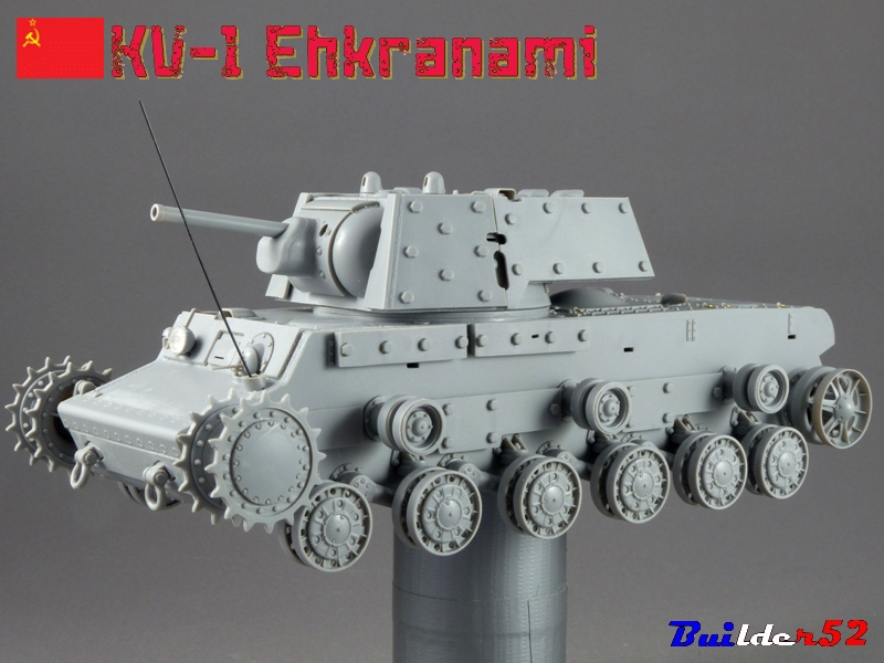 KV-1 Ehkranami  -  TRUMPETER 1/35 903561P1030096